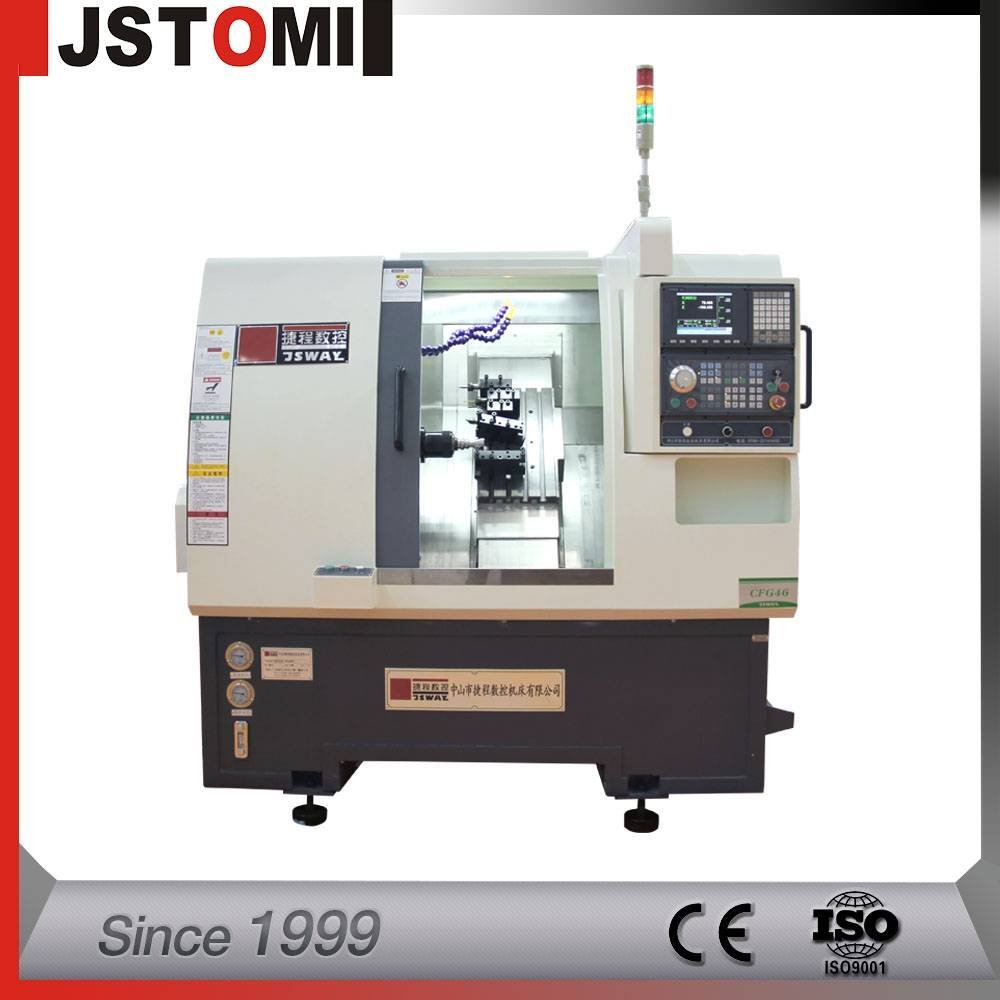 CF36  2-axis gang type cnc lathe machine