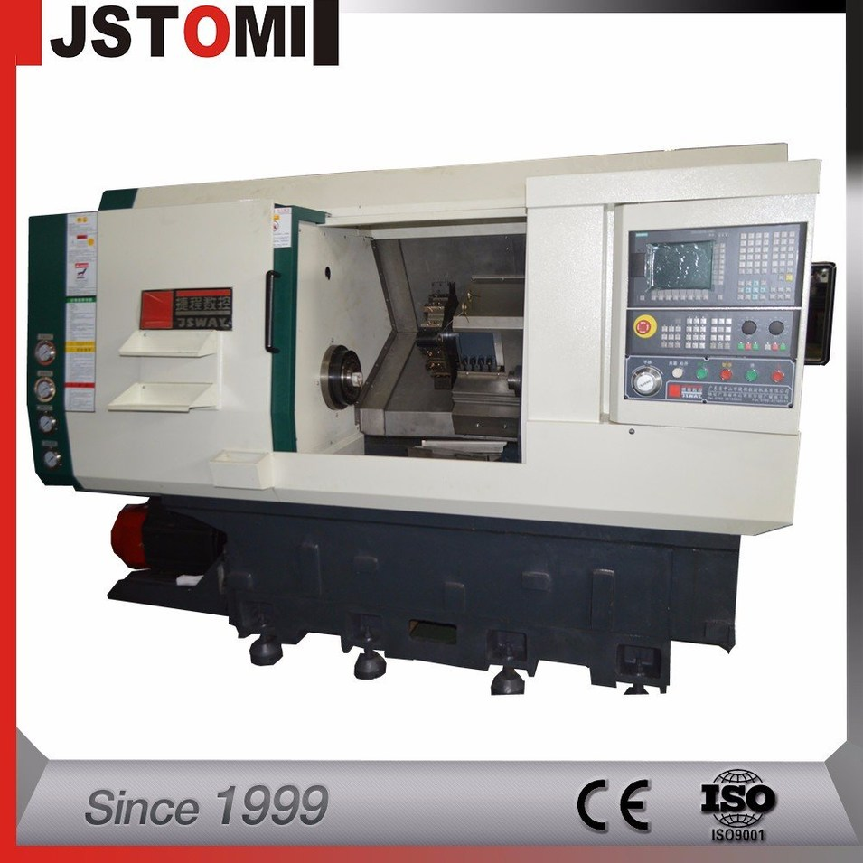 C20 cost-benefit automatic machining heavy cutting and turning CNC machine C20 with tailstock