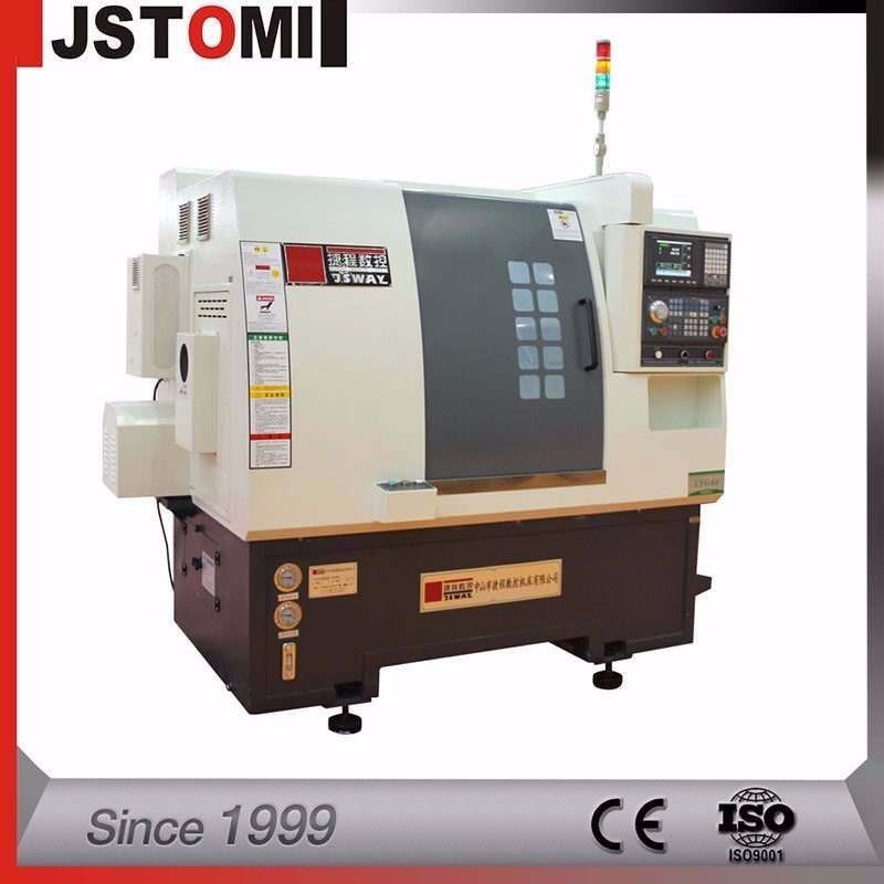 CFG46D  2-Axis Turret And Tailstock CNC Wheel Lathe Cutting Machine