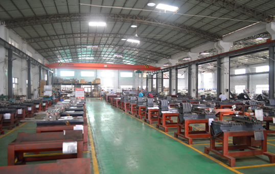 Assembly workshop including front assembly and Post assembly
