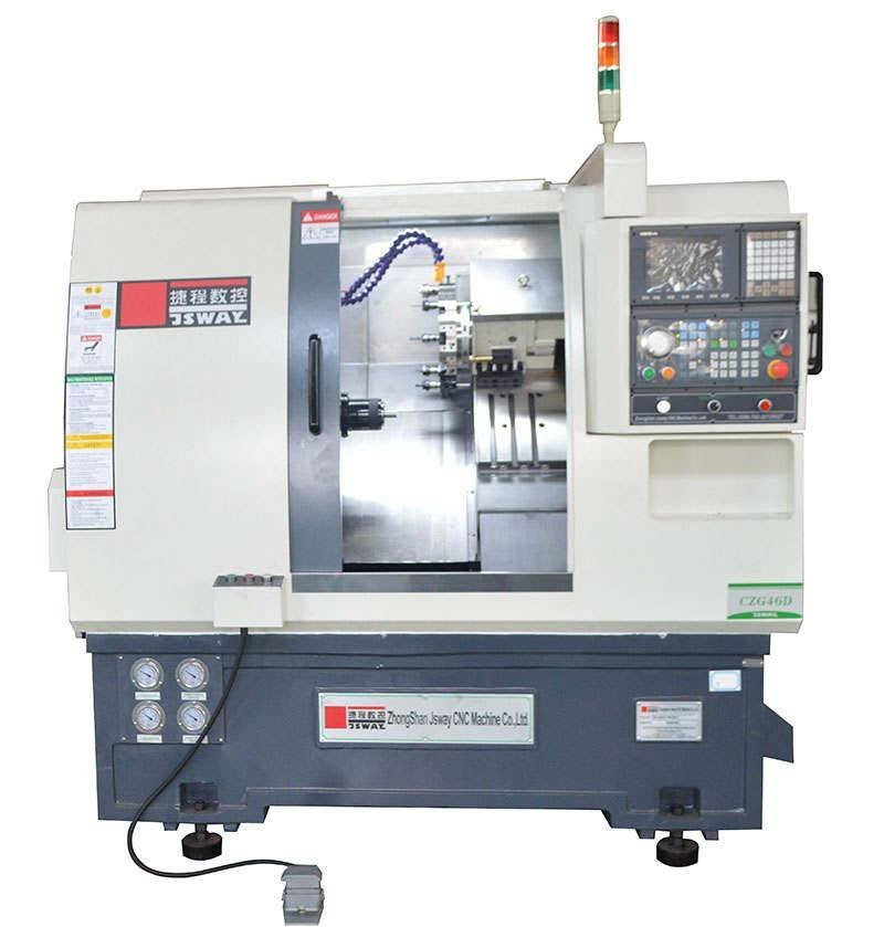 CFG46D  2-Axis turret and tailstock  cnc lathe machine